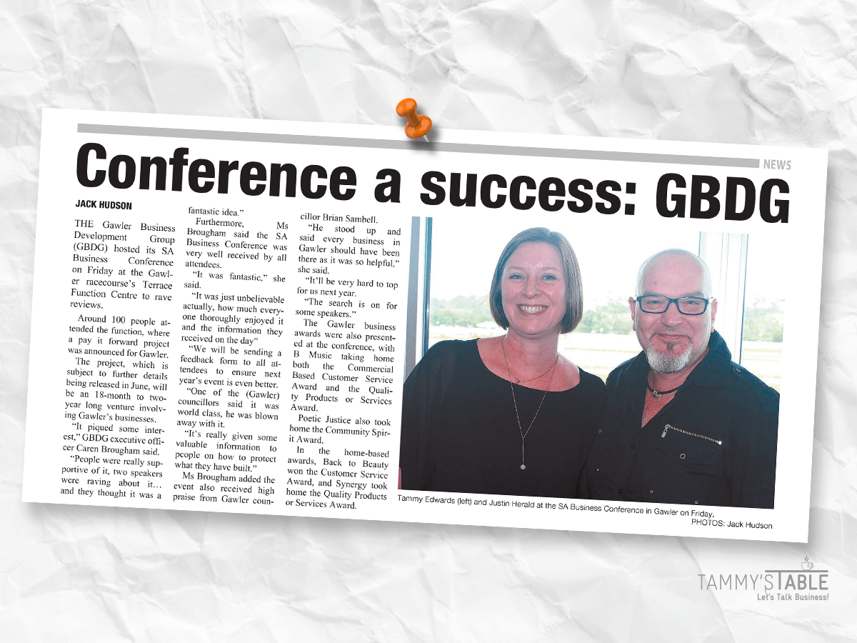 SA Business Conference Gawler